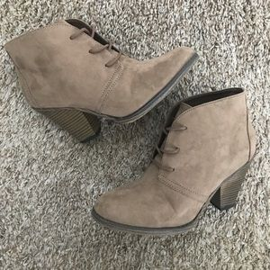MIA Sage Lace-up Booties